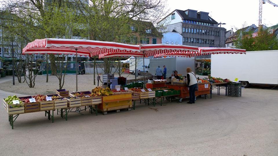 Wochenmarkt in Bregenz